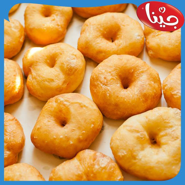 Doughnuts are a type of pastry fried in oil and mixed with jam